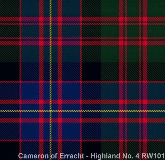 Cameron of Erracht Highland No.4