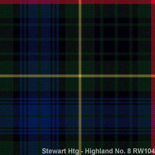 Stewart Hunting, Highland No. 8