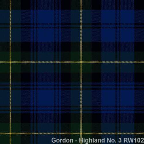 Gordon Highland No.3